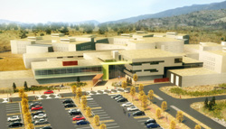 Rendering of Okanagan Correctional Centre