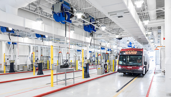 Stoney CNG Bus Storage and Transit Facility