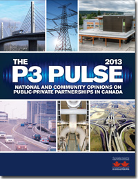 The P3 Pulse - National and Community Opinions on Public-Private Partnerships in Canada