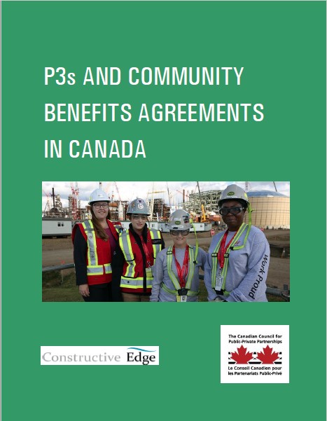 P3s and Community Benefits Agreements in Canada